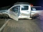 Trecho de acidente na 060 tinha fezes de porcos e motorista estava bêbado