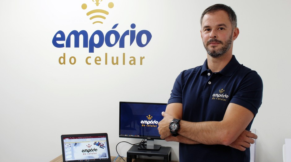 Rafael Campos, fundador da Empório do Celular  (Foto: Divulgação)