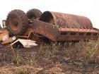Trabalhador morre em acidente com rolo compressor em Maringá, no PR