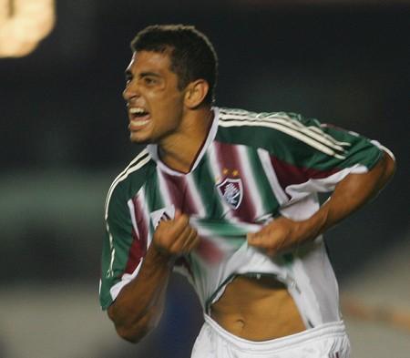 DIego Souza Fluminense 2005 (Foto: Alexandre Cassiano / O Globo)