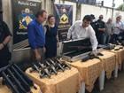 Polícia Civil de Roraima recebe novos armamentos