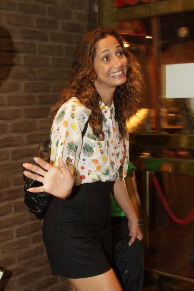 Camila Pitanga  (Foto: PhotoRioNews)