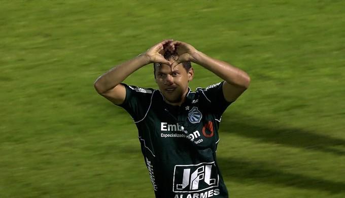 Luiz Eduardo; Caldense (Foto: Reprodução/ TV Globo MInas)