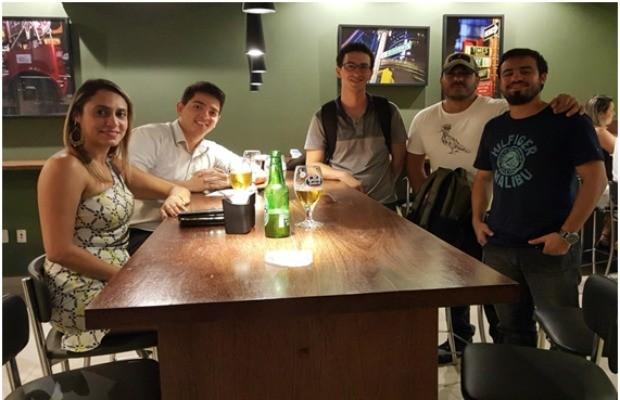Projeto começou com Hycaro Mattos e os demais amigos adotaram a ideia após um tempo (Foto: Arquivo pessoal)