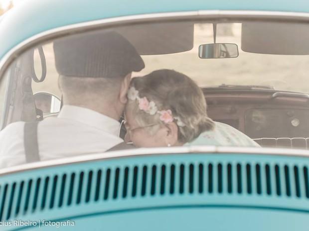 Casal exala amor um pelo o outro (Foto: Divulgação/Vinícius Ribeiro)