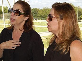 Alda e Ana Falcão - irmãs do empresário Sérgio Falcão (Foto: Katherine Coutinho / G1)