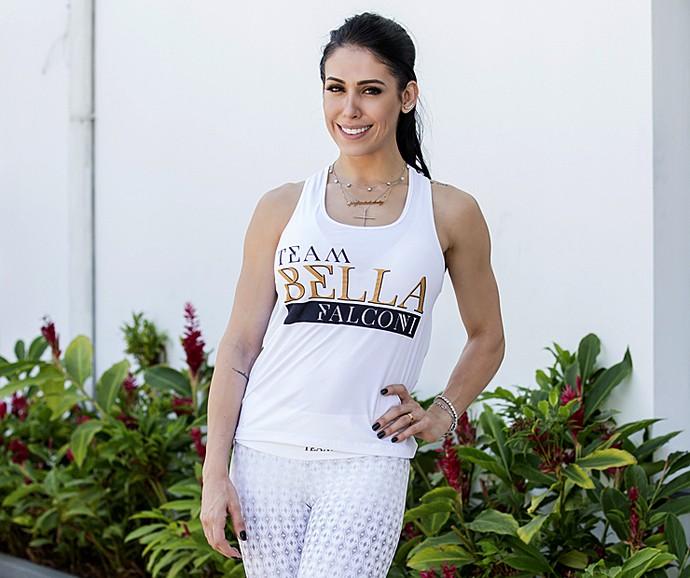 Bella Falconi diz que decidiu estudar nutrição depois do sucesso na web (Foto: Felipe Monteiro / Gshow)