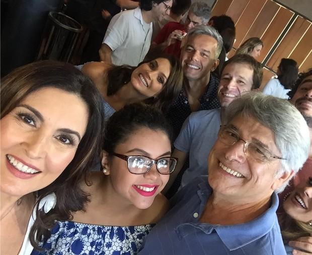 Fátima Bernardes e Sérgio Chapelin (Foto: Reprodução/Instagram)