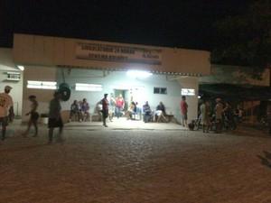 Mini Pronto-Socorro Denilma Bulhões, no Benedito Bentes I  (Foto: Waldson Costa/ G1)