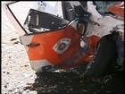 Policial ferido em acidente provocado por suspeito de crime recebe alta