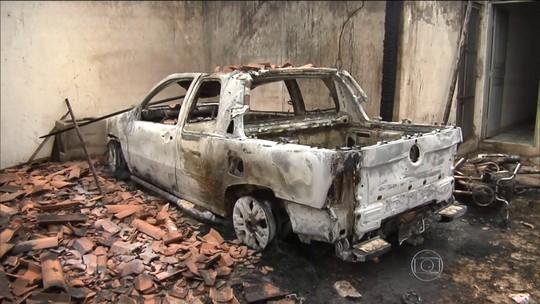 Grupo depreda Câmara e coloca fogo em delegacia de Igarapé do Meio (MA)