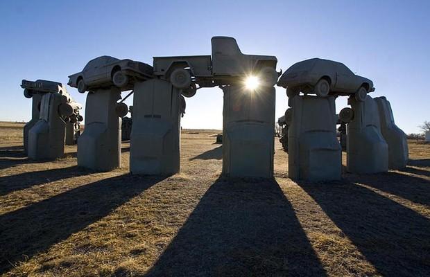 Carhenge (Foto: Reprodução)
