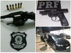 PRF prende quatro pessoas e apreende duas armas na Grande Natal