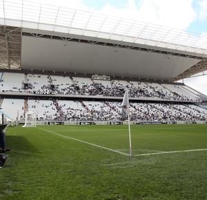 Torcida Teste Arena Corinthians (Foto: Marcos Ribolli)