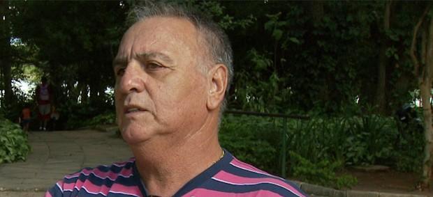 Dicá, ex-camisa 10 da Ponte Preta (Foto: Reprodução EPTV)