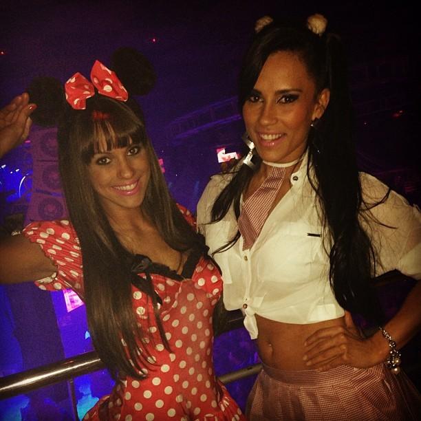 Carol Dias e a ex-BBB Kelly Medeiros em festa em Campinas, interior de São Paulo (Foto: Instagram/ Reprodução)