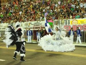 Escola 'Cidade de Macapá' quer encantar o público com seu enredo (Foto: Arquivo/Cidade de Macapá)