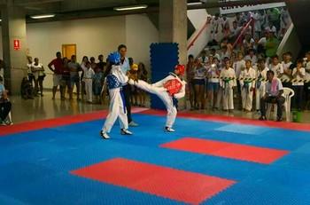 Seletiva para a Copa do Brasil de Taekwondo, em Rio Branco (Foto: Walison Silva/Arquivo Pessoal)