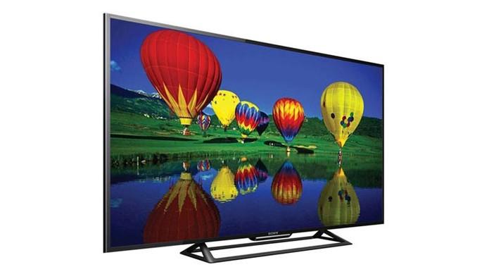 Modelo de Smart TV da Sony tem tela Full HD de 48 polegadas LED (Foto: Divulgação/Sony)