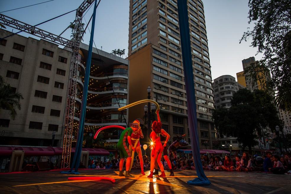 Viradinha Cultural (Foto: Victor Moriyama/G1)