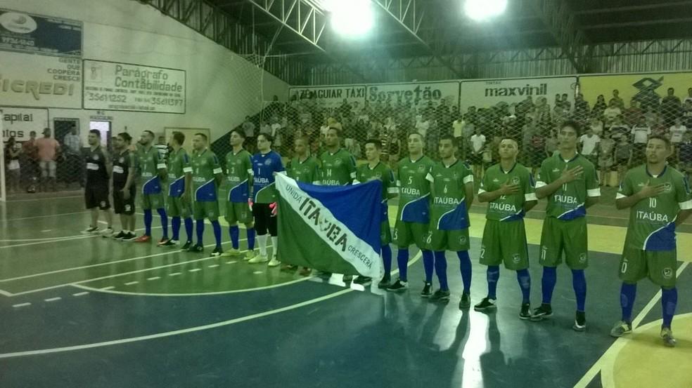 Itaúba, Copa Centro América de Futsal (Foto: Assessoria)