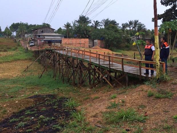 Defesa Civil constatou impactos da estiagem no interior do Amazonas (Foto: Divulgação/Defesa Civil )