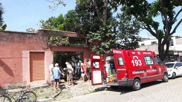 Acidente aconteceu na Rua Gonçalves Ledo, no bairro Liberdade (Foto: Vanderlei Raimundo/Arquivo Pessoal)