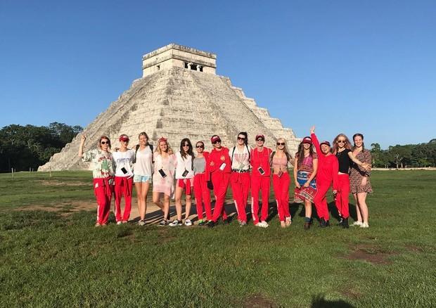 Team Delevingne no México  (Foto: Reprodução/ Instagram)