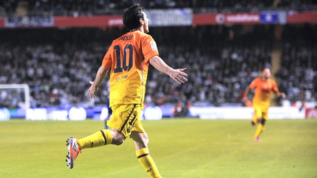 Messi, La coruna e Barcelona (Foto: Getty Images)