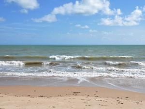 Praia de Manaíra, em João Pessoa (Foto: Alberi Pontes/Secom-PB)