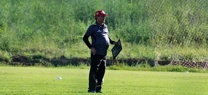Eduardo Hungaro, técnico do River-PI  (Foto: Victor Costa/RiverAC)