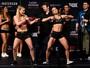 """VanZant e Waterson fazem """"dancinha"""" em encarada do UFC Sacramento"""