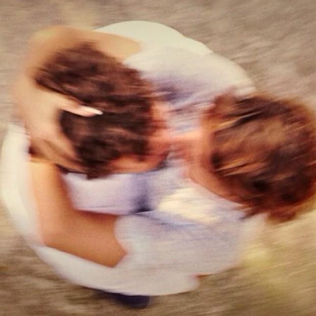 Sophie Charlotte e Daniel de Oliveira (Foto: Instagram / Reprodução)