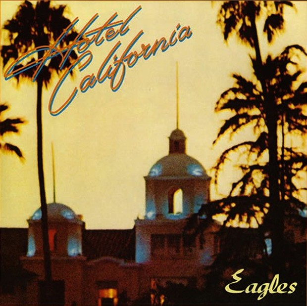 Capa do disco 'Hotel California', do Eagles (Foto: Divulgação)