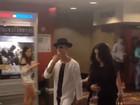 Justin Bieber e Selena Gomez vão juntos ao cinema