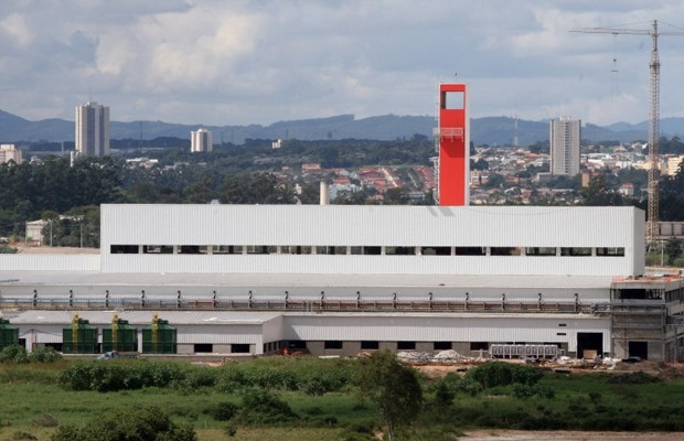 Fábrica de carros da Chery em Jacareí (SP) (Foto: Divulgação)