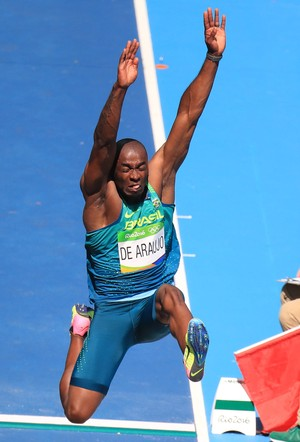 atletismo; decatlon; brasil; olimpíadas; Luiz Alberto de Araújo (Foto: Dominic Ebenbichler/Reuters)
