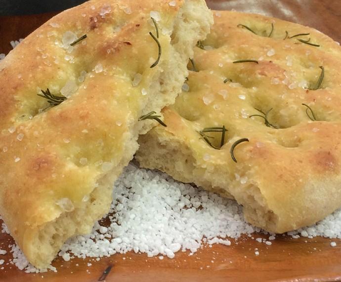Focaccia de couve-flor (Foto: Mais Você/Gshow)