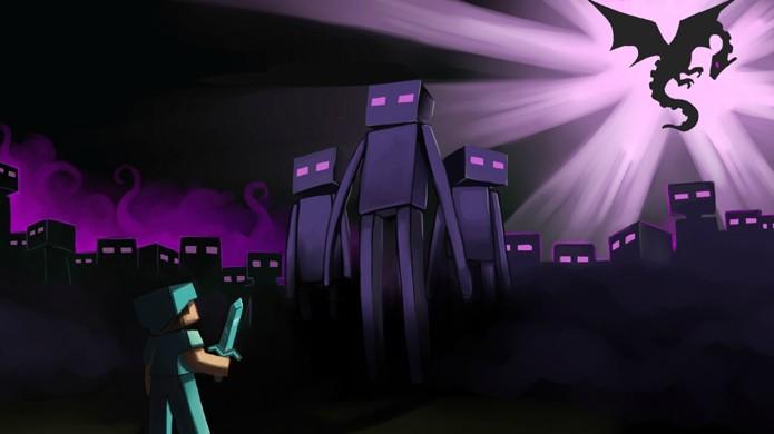 Confira como matar o temido Enderman em Minecraft (Foto: Reprodução/Wallpedes)