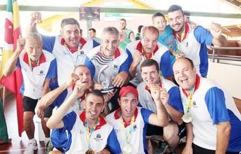 Mogi comemora quarto lugar nos Jogos Abertos e manutenção na elite
