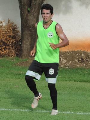 Rogério Salvato Júnior meia Presidente Prudente Futebol Clube PPFC (Foto: Ronaldo Nascimento / Globoesporte.com)