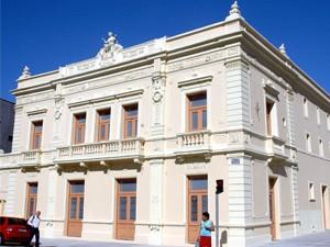 Teatro Guarany, em Santos, SP (Foto: Anderson Bianchi/Prefeitura de Santos)