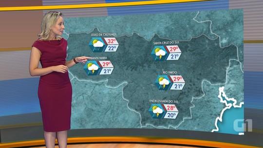 Há previsão de chuva para todas as regiões do RS no último dia do ano