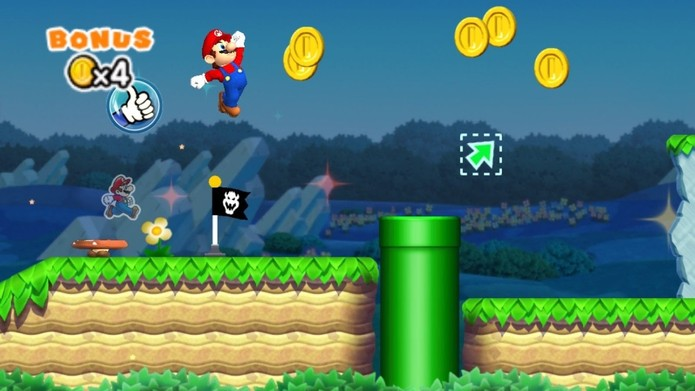 Super Mario Run é lançado no iOS (Foto: Divulgação/Nintendo) (Foto: Super Mario Run é lançado no iOS (Foto: Divulgação/Nintendo))