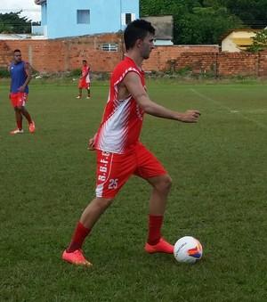 Robinho, meia Rio Branco-AC (Foto: Duaine Rodrigues)