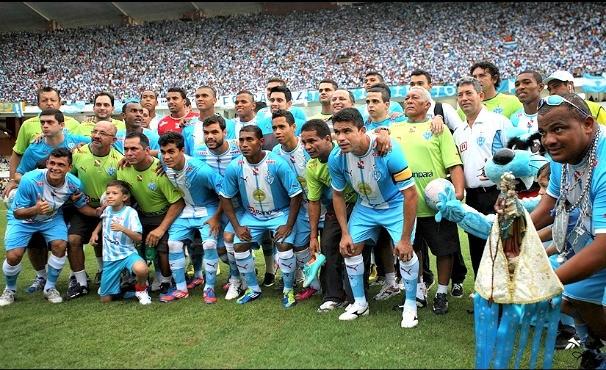 Paysandu campeão paraense 2013 (Foto: Rodolfo Oliveira (Agência Pará) )