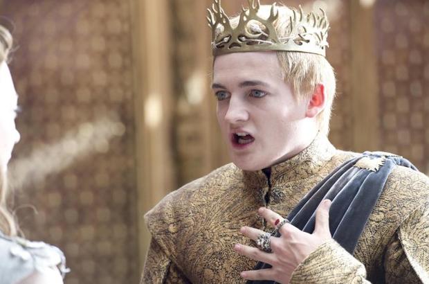 Joffrey momentos antes de morrer (Foto: HBO/Divulgação)