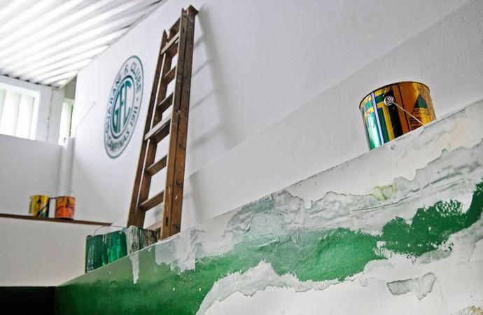 Alojamento Brinco de Ouro Guarani Campinas (Foto: Rodrigo Villalba / Memory Press)