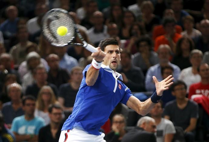 Djokovic x Wawrinka Masters 1000 Paris Tênis (Foto: Reuters)