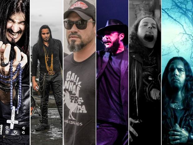 Palco do Rock 2017 terá 25 bandas em quatro dias (Foto: Arte/G1 Bahia)